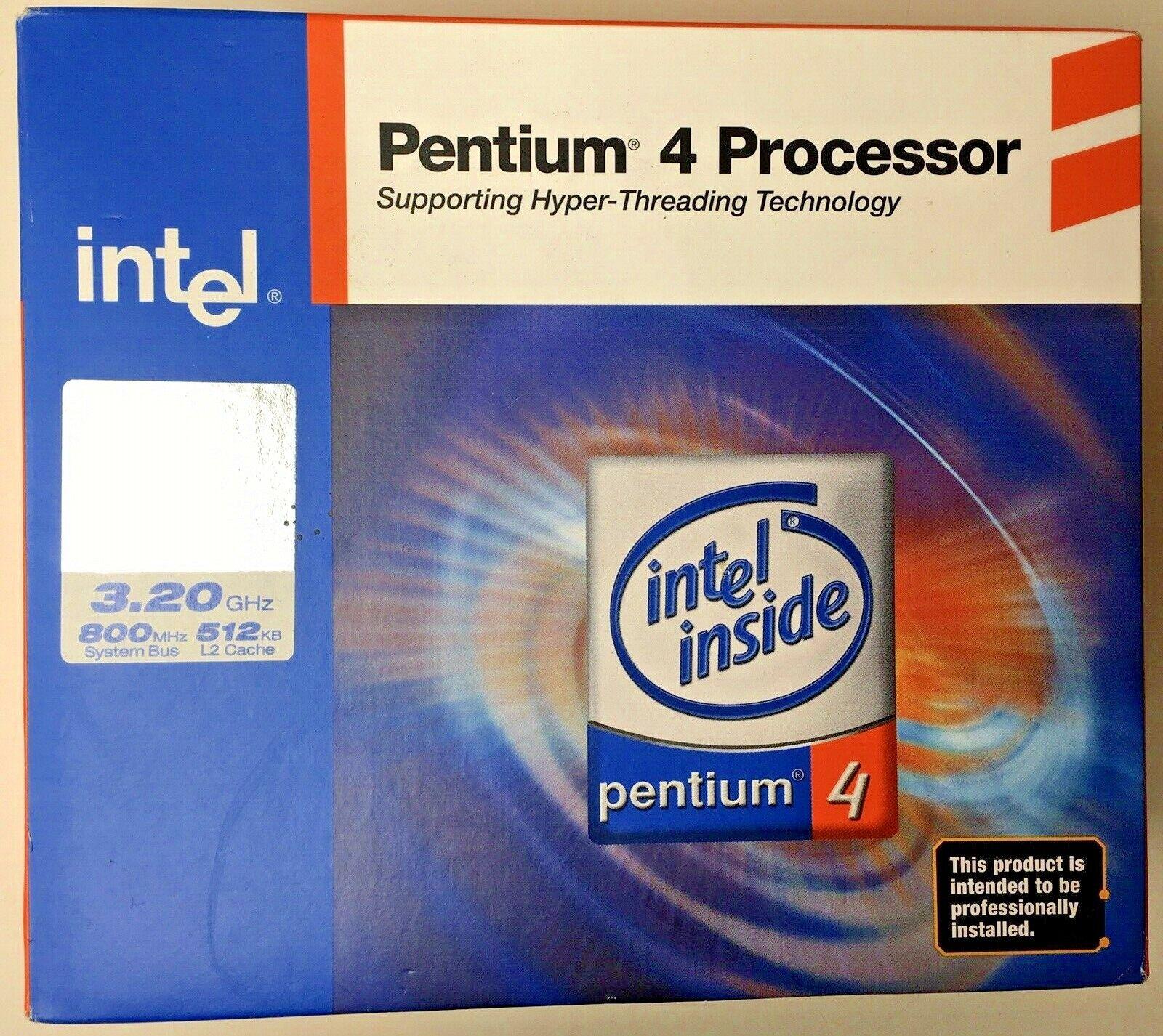Intel Pent4 540 3.2Ghz 800Mhz 1Mb C Intel SL7J7