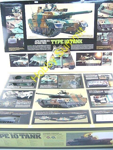 Tamiya 1 16 Japan  TYPE 10  Main Battle Tank  JSDF Full-Option R C Kit  56037
