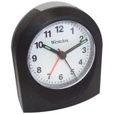 Quartz Alarm Clock Black Case