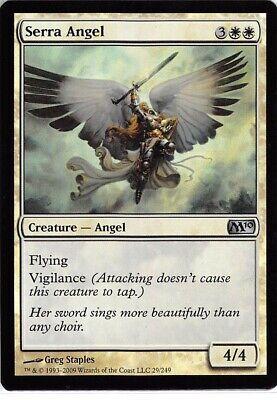 White m10 Magic 2010 Mtg Magic Uncommon 1x x1 1 FOIL Serra Angel