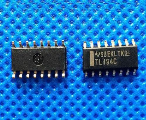 5pcs NEW TL494CD TL494 TL494C SOP-16 Power Supply PWM Controllers