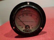 Vintage Weston Electrical Instrument Corp Milliampere Ac Meter 0 25 Steampunk