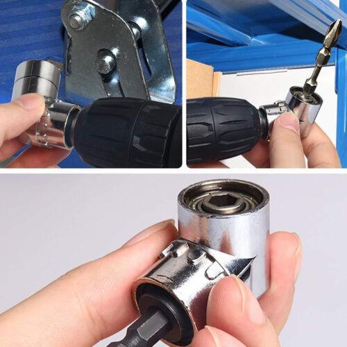 1//4/'/'Screwdriver Corner Angle Adapter 105 Degree Angle Drill Attachment US