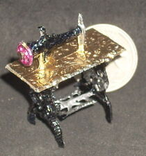 Sewing Machine - New Pour in Antique Stone Lava Mold #MP839 Miniature Mexican