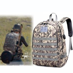 New Pubg Playerunknown S Battlegrounds Level 3 Backpack Game Bag