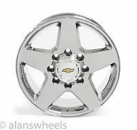 "Chevy Silverado Hd 2500 3500 8 Lug 8x6.5 20"" Chrome Wheels Rims Suburban 5503"
