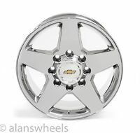 "Chevy Silverado Hd 2500 3500 8lug 8x180 20"" Chrome Wheels Rims Suburban 5503"