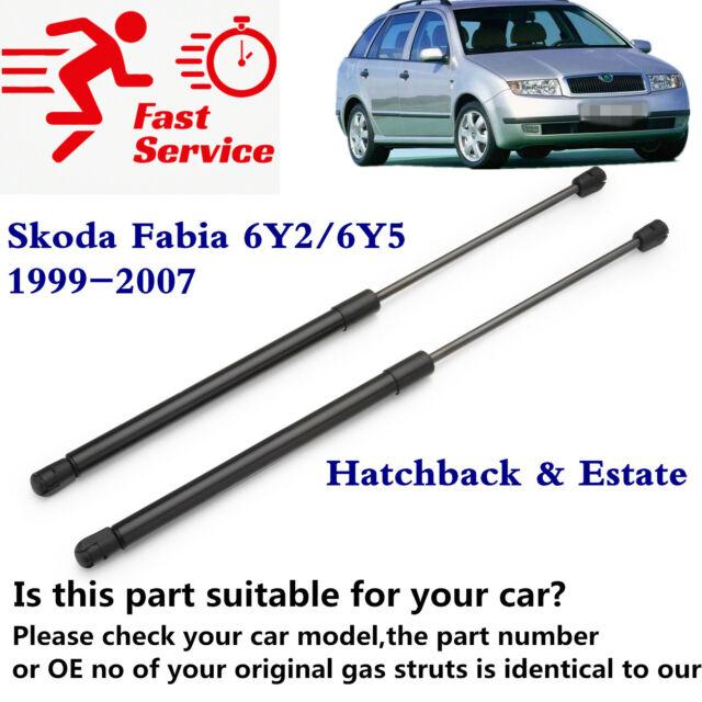 FOR SKODA FABIA MK1 4 DOOR SALOON 2001-2007 REAR TAILGATE BOOT TRUNK GAS STRUTS