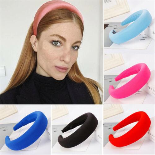 Women Fashion Elegant Hair Bands Thick Sponge Velvet Hairband Headwear Hairgrips