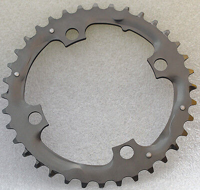 Truvativ Chain Ring chainring MTB 36T Alum 3mm Tungsten Gray BCD 104mm