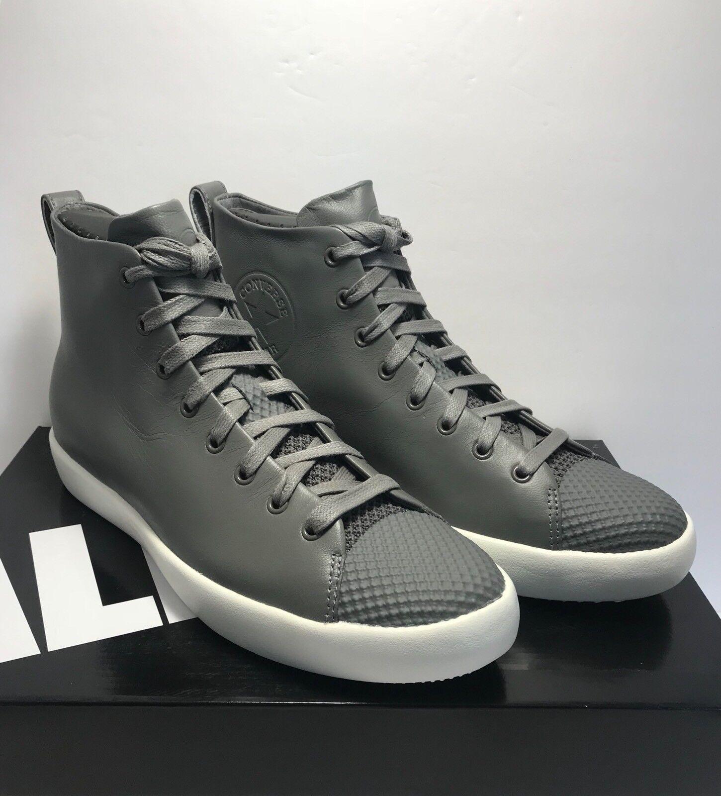 f98c2910e020 Converse Converse Size Mens Mens Mens 9.5   Womens 11 CTAS Modern Hi Grey  Leather Shoes