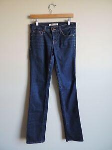 Women-039-s-J-Brand-Cigarette-Leg-Skinny-Dark-Jeans-Size-26