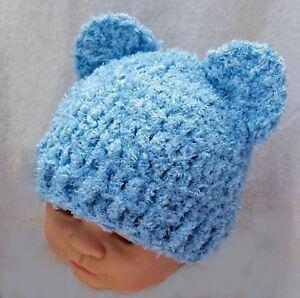 2020 Lovely Brown Teddy Bear Hat,Handmade Knit Crochet Baby Girl ... | 298x300