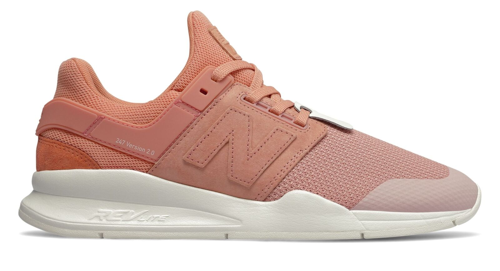 New Balance Men's 247 Time Zone shoes Pink with Pink