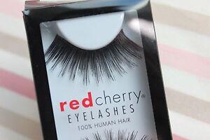 Red-Cherry-112-ROSEBUD-lang-falsche-kuenstliche-unechte-Wimpern-strip-lash