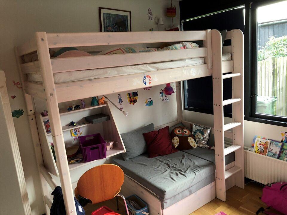 Halvhøj seng, Flexa Classic seng, b: 100 l: 200