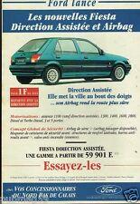 Publicité advertising 1994 Ford Fiesta