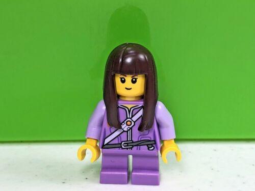 Little Girl Minifig LEGO Ava Girl Minifigure Nexo Knights 70324 Short Legs