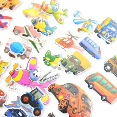 5pcs Bubble Stickers 3D Cartoon KIds ClassicToys Sticker School Reward gift