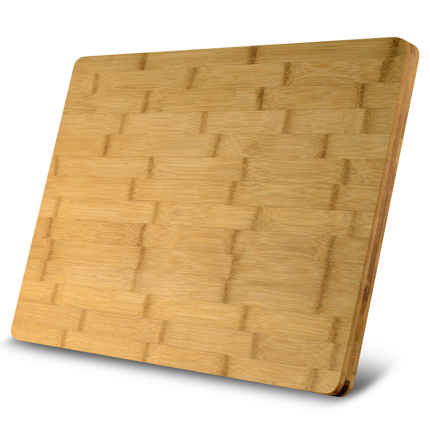 heim 39 s xl cutting board large groove kitchen organic bamboo wood chopping boards ebay. Black Bedroom Furniture Sets. Home Design Ideas
