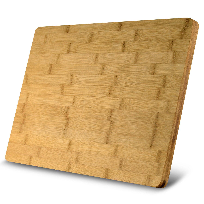 Cutting Board: HEIM's XL Cutting Board Large Groove Kitchen ORGANIC
