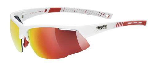 white red Uvex Radical Pro Radsportbrille