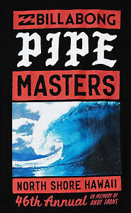 063703f3319175 Image is loading New-2017-Billabong-Pipe-Masters-Surfing-Contest-Black-