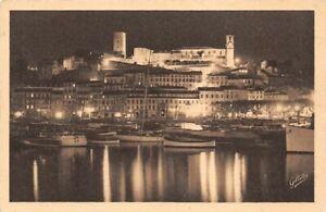 Cannes-La-Night-Side-Coast-French-Riviera-Artistic