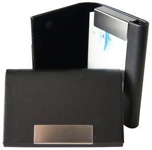 Details Zu Visitenkartenetui Mit Magnetverschluss Edel Visitenkartenhalter Visitenkartenbox