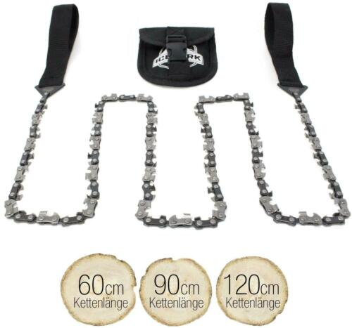 Iceberk Hand Chain Saw incl Belt Bag-High Quality Hand Saw Stainless