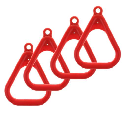 4pcs Gym Ringe Gymnastikringe Turnringe ohne Seil für Kinder Klettern