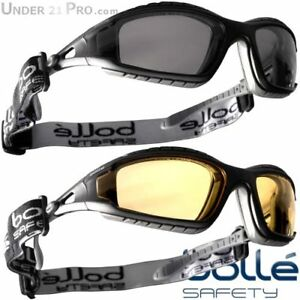 Lunettes protection Bollé Safety Track Sports Airsoft Moto Vélo Glasses