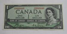 1954 CANADA $1 DOLLAR DEVIL'S FACE UNC CRISP BC-39aA-i A/E 0000449