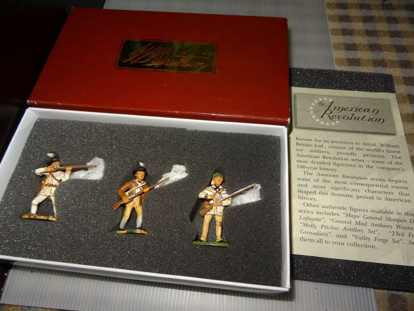 Britains-American Revolution Series-Set 17449 - MORGANS RIFLEMEN