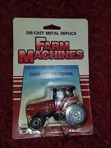 Vintage-ERTL-Farm-Machines-1-64-Case-International-Die-Cast-Metal-Replica-1986