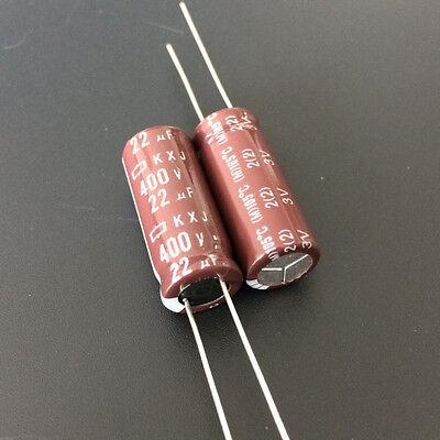 10pcs 22uF 400V NCC Nippon KXG 13x22mm 400V22uF Long life Capacitor