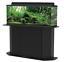 thumbnail 1 - Deluxe 55 Gallon Aquarium Stand Storage Cabinet Fish Tank Holder Wood Doors New