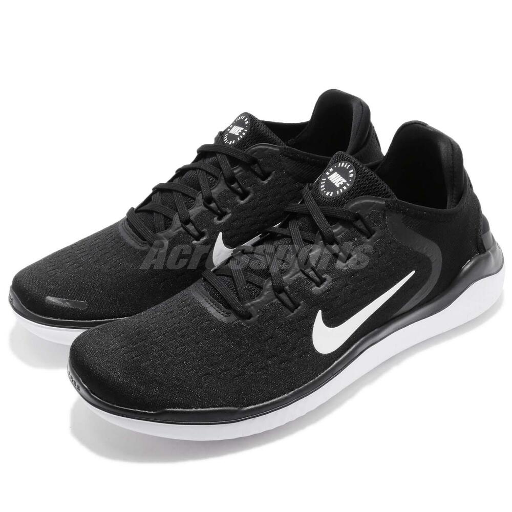 Nike Free RN 2018 courir noir blanc homme fonctionnement chaussures Sneakers 942836-001