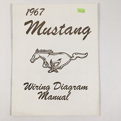 1967 ford mustang wiring diagram manual jim osborn scott drake new open bag   ebay