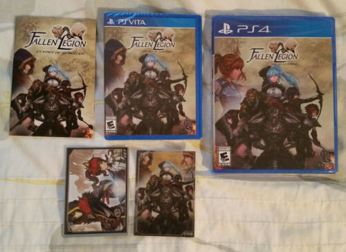 Fallen Legion Sins of an Empire and Flames of Rebellion PS4 Vita LRG #108 #109