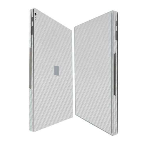 Skinomi Silver Carbon Fiber Skin+Screen Protector for Microsoft Surface Book