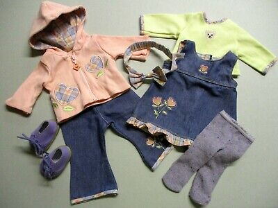 American Girl Bitty Baby Twins Doll 2004 Flower Fairy Complete Set *Adorable Toy