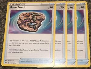 4x Rare Fossil 167//189 Pokemon card Darkness Ablaze uncommon NM