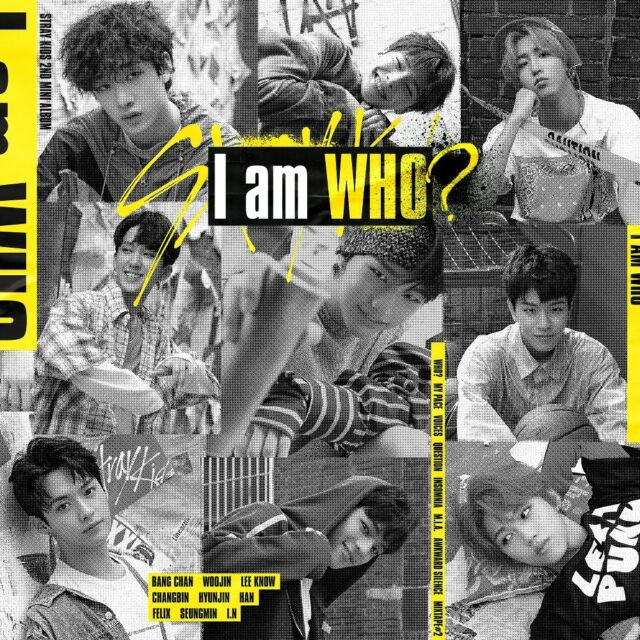 STRAY KIDS - I am WHO [WHO ver.] CD+3Photocards+Free Gift