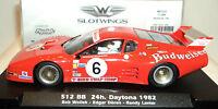 Slotwings W50101 Ferrari 512bb Budweiser 6 Daytona 1982 1/32 Slot Car