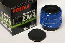 Pentax smc DA 35 mm / 2,4 AL Objektiv blau / blue Neuware vom Fachhändler