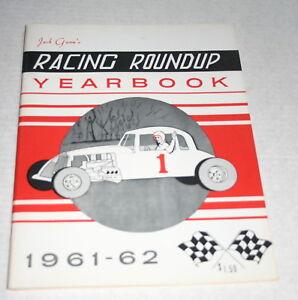 JACK-GUNNS-RACING-ROUNDUP-1961-62-YEARBOOK-MODS-SPRINTS-WILLIAMS-GROVE-LANGHORNE