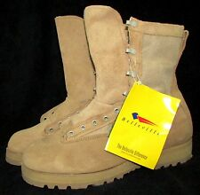NEW BELLEVILLE 790G Desert Tan Army Combat Goretex Military GI Boots 8.5 WIDE