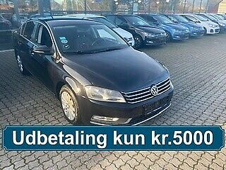 VW Passat 1,6 TDi 105 BlueMotion Diesel modelår 2012 km