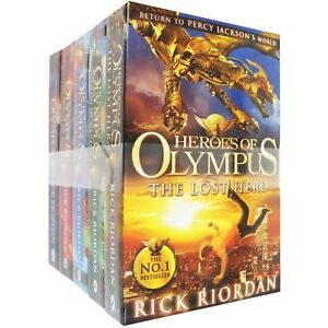 Heroes-of-Olympus-Series-Children-5-Books-Collection-Set-By-Rick-Riordan-New